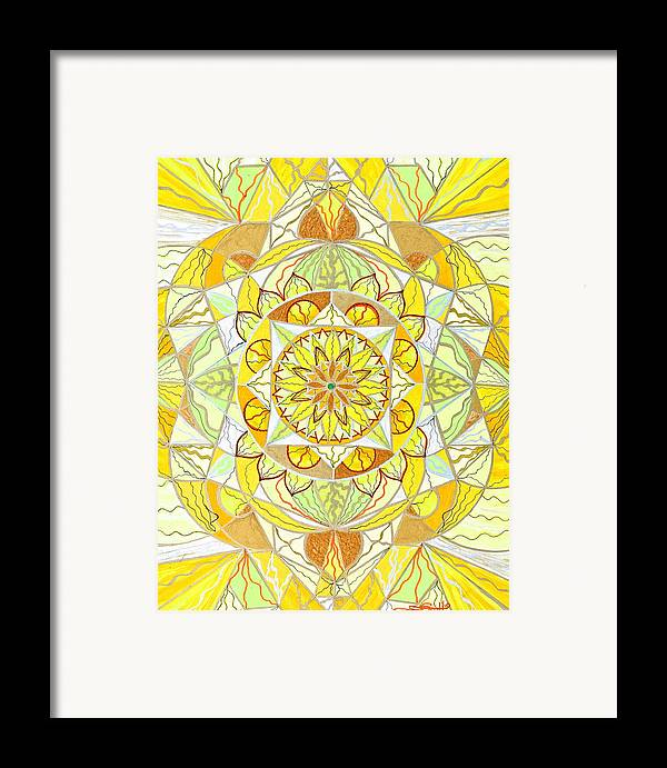 Joy Framed Print featuring the painting Joy by Teal Eye Print Store