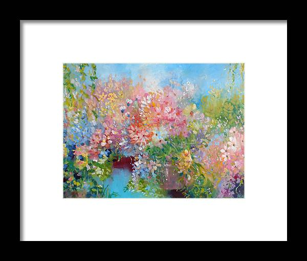 Jubilee Framed Print featuring the painting Jubilee by Beverly Fagan Gilbertson