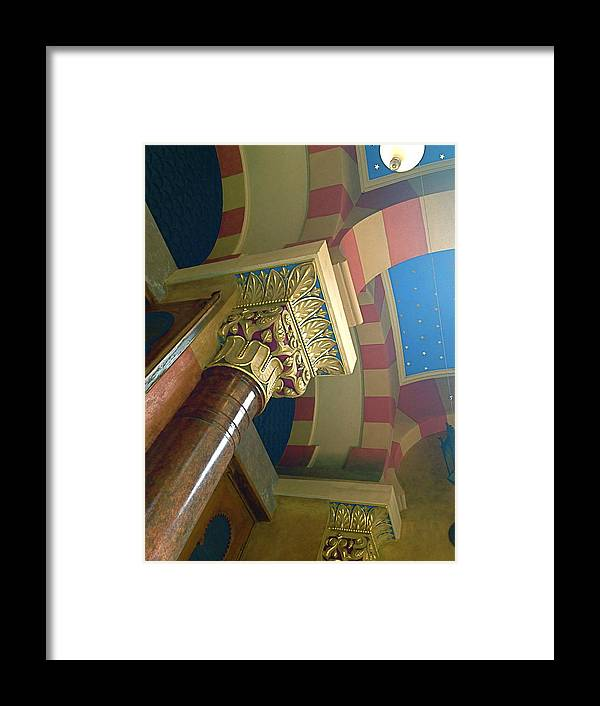 Color Framed Print featuring the photograph Jubillee Synagogue IIi by Hannah Rose