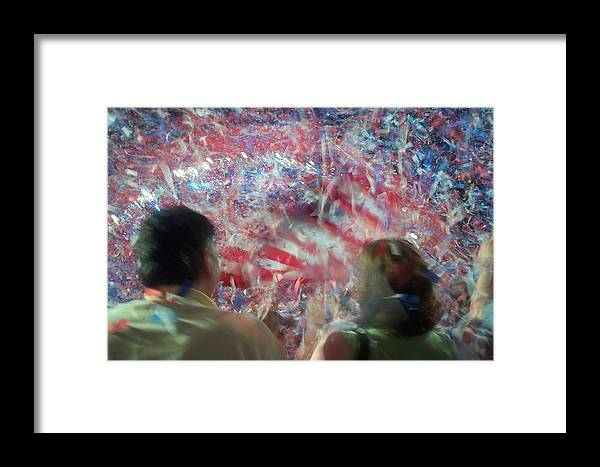july Fourth Framed Print featuring the photograph July Fourth Finale by Barbara McDevitt