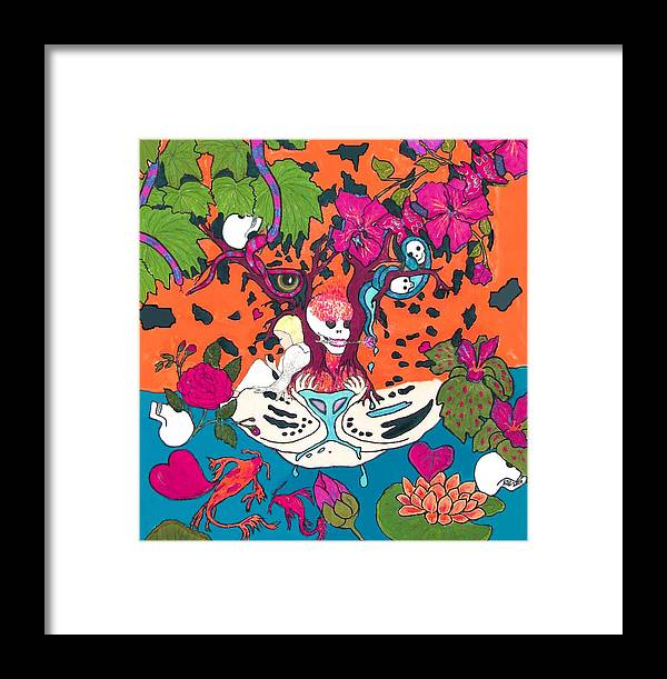 Fantasy Framed Print featuring the digital art Jungle Fever 5 by Stephanie Grant