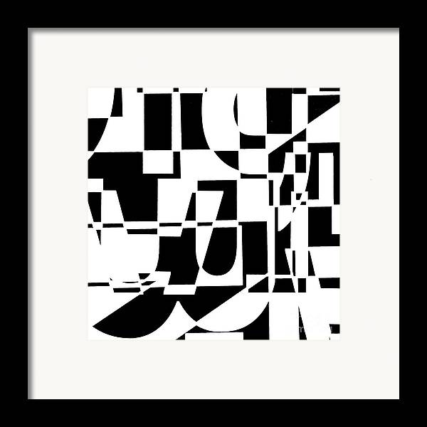 Junk Mail Framed Print featuring the digital art Junk Mail by Elena Nosyreva