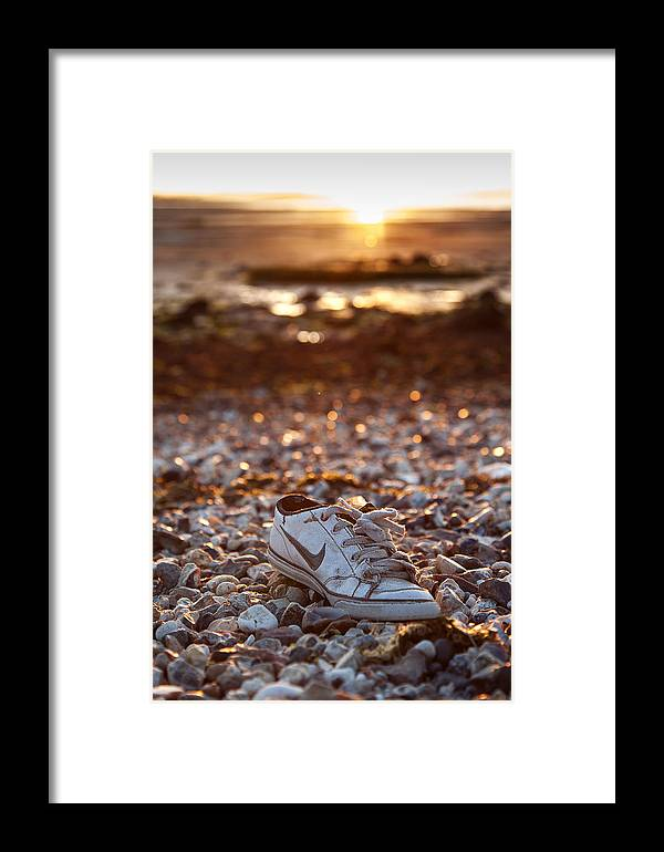 Shoe Framed Print featuring the photograph Just Shoe It by Nigel Jones