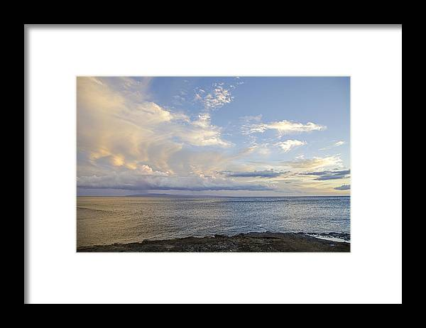 Hawaii Framed Print featuring the photograph Kahoolawe View by Charlie Osborn