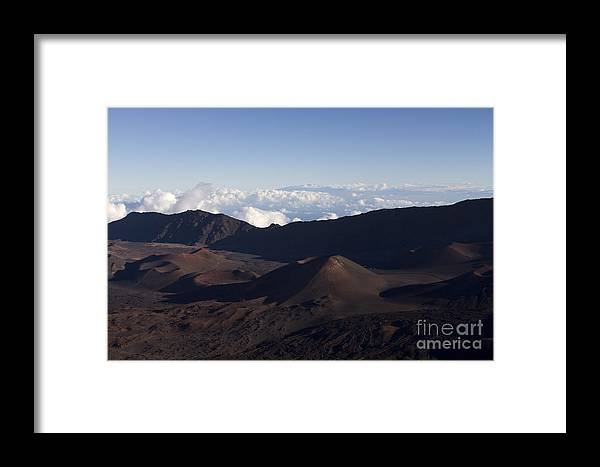 Aloha Framed Print featuring the photograph Kalahaku Overlook Haleakala Maui Hawaii by Sharon Mau