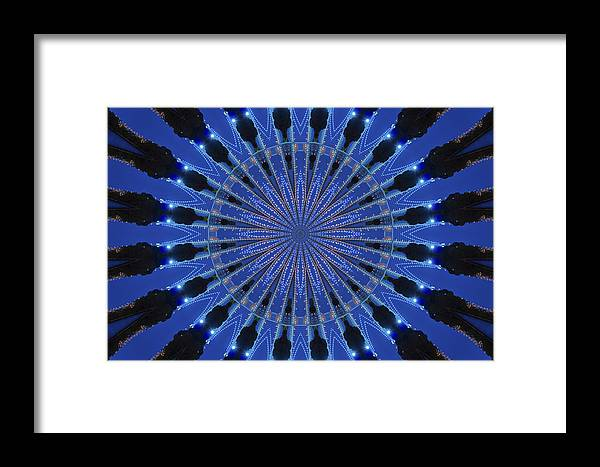 Geometric Framed Print featuring the photograph Kaleidoscopes by Theodore Jones