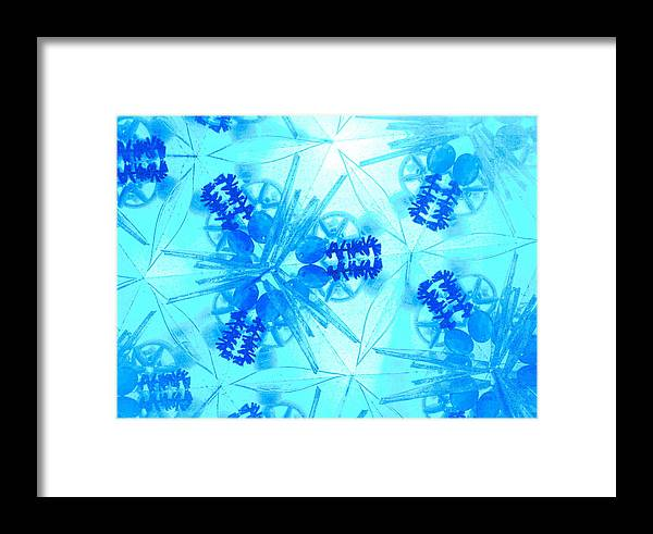Caleidoscope Framed Print featuring the photograph Kaleidoscopic Holy Vision by Sandra Pena de Ortiz