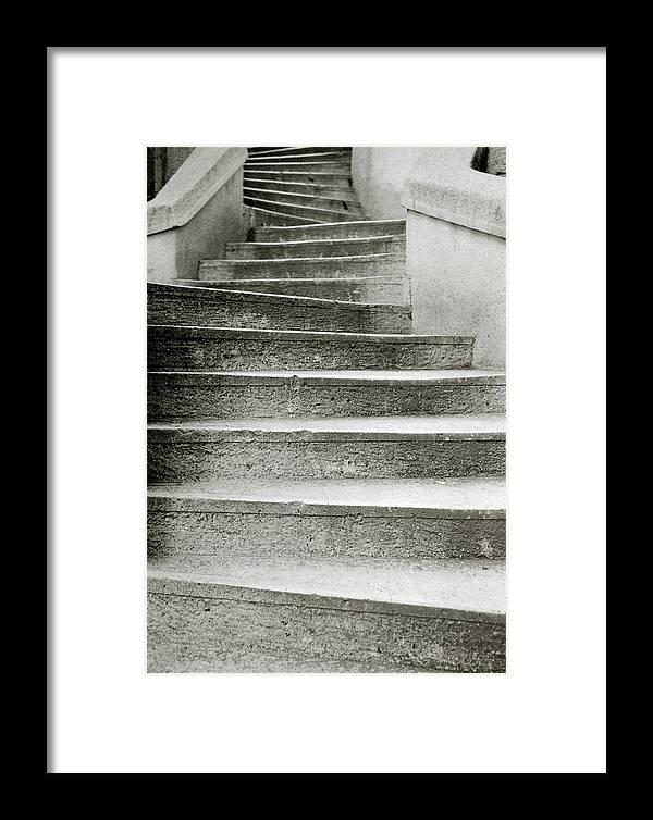 Istanbul Framed Print featuring the photograph Kamondo Steps by Shaun Higson