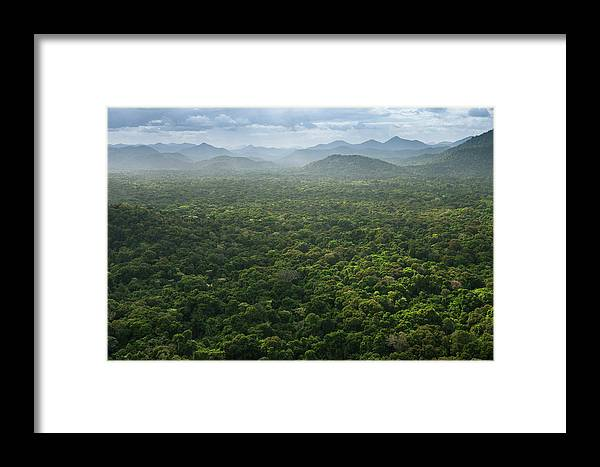 Danita Delimont Framed Print featuring the photograph Kanaku Mountains by Pete Oxford