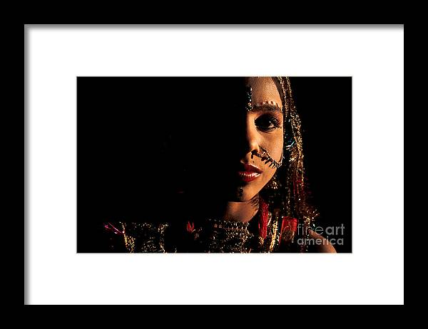 India Framed Print featuring the photograph Kantichhandra by Franck Metois