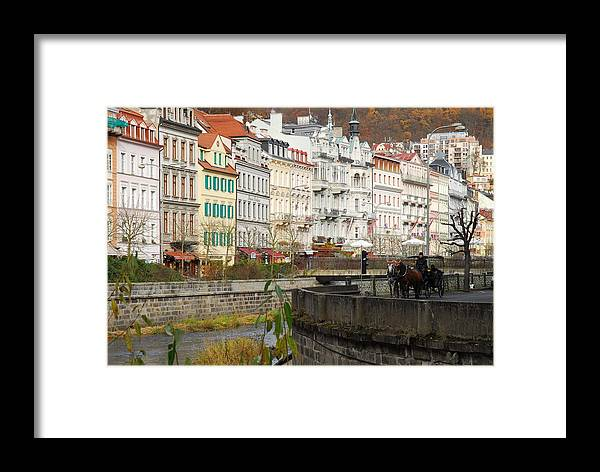 Coach Framed Print featuring the photograph Karlsbad by Hildie Hofmann