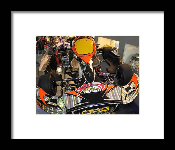 Racing Framed Print featuring the photograph Kart by Horst Duesterwald