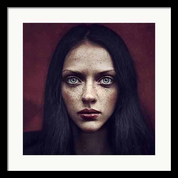 Portrait Framed Print featuring the photograph Kate by Anka Zhuravleva