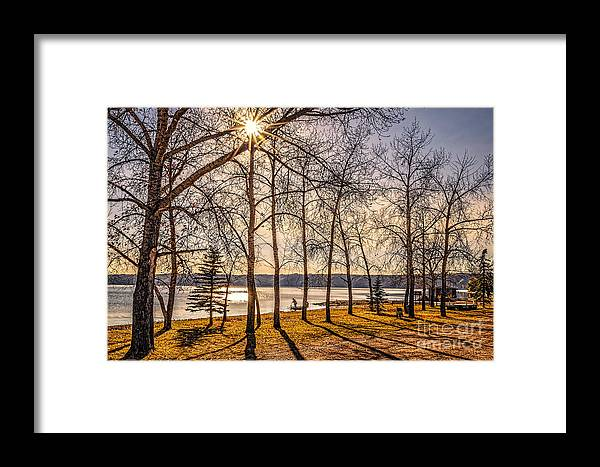 Saskatchewan Framed Print featuring the photograph Katepwa Lake In Saskatchewan by Viktor Birkus