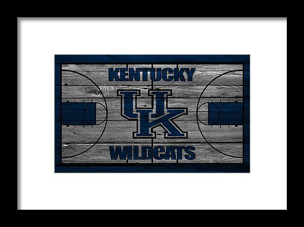 Wildcats Framed Print featuring the photograph Kentucky Wildcats by Joe Hamilton