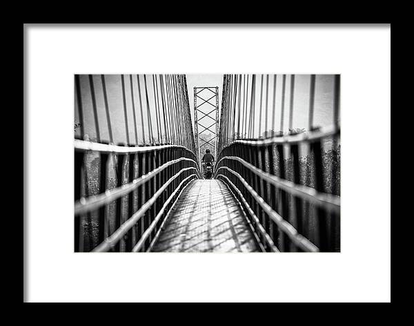 Vanishing Point Framed Print featuring the photograph Kerala's Streets by Marco Tagliarino