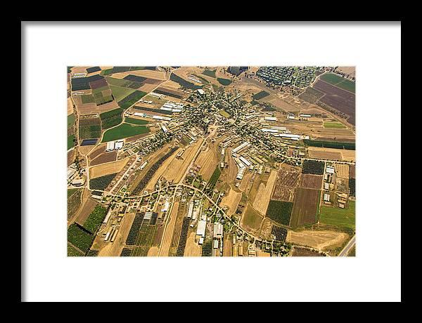 Gilboa Framed Print featuring the photograph Kfar Yehezkel, Gilboa by Ofir Ben Tov