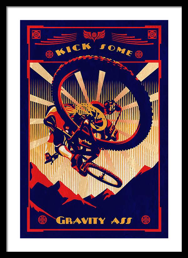 Kick Some Gravity Ass by Sassan Filsoof