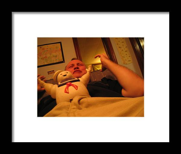 Humor Framed Print featuring the photograph Kidney Stone From Hell by Peter DiFrancesco
