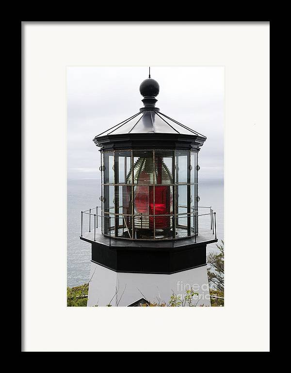 Beacon Framed Print featuring the photograph Kilauea Lighthouse by Peter French