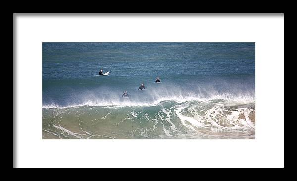 Surfers Framed Print featuring the photograph Killing Time In The Crystal City by Amanda Holmes Tzafrir