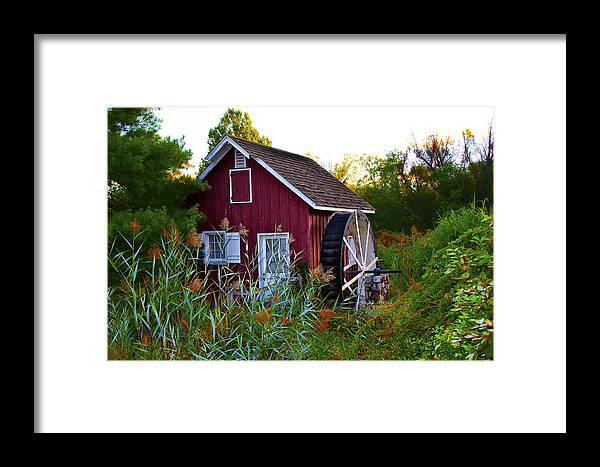 Kimberton Framed Print featuring the photograph Kimberton Mill by Bill Cannon
