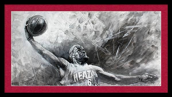 King James LeBron by Ylli Haruni