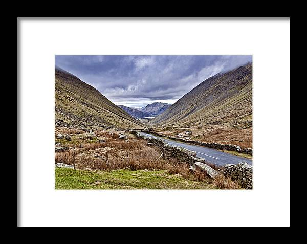 Kirkstone Framed Print featuring the photograph Kirkstone Pass View by Trevor Kersley