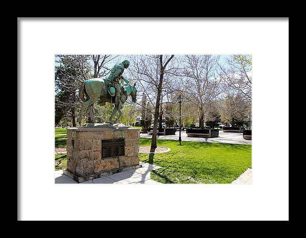 Kit Carson Framed Print featuring the photograph Kit Carson by Eric Martin