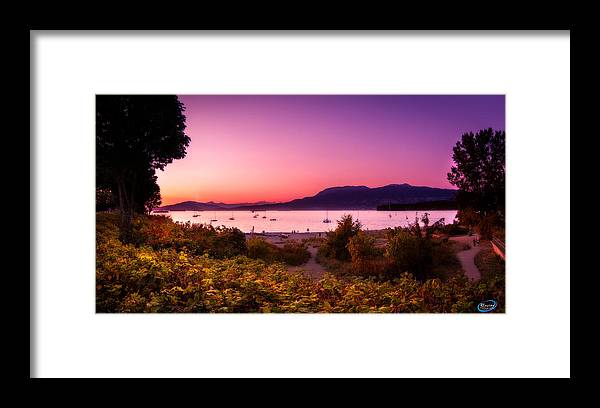 Beach Framed Print featuring the photograph Kitsilano by Reid Lucier
