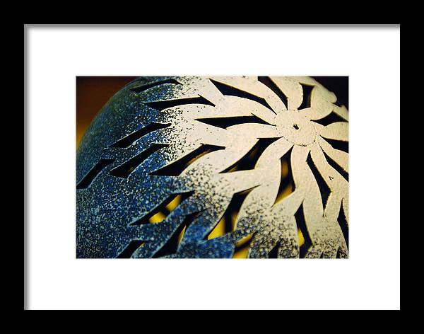 Knob Framed Print featuring the photograph Knob by Apurva Madia