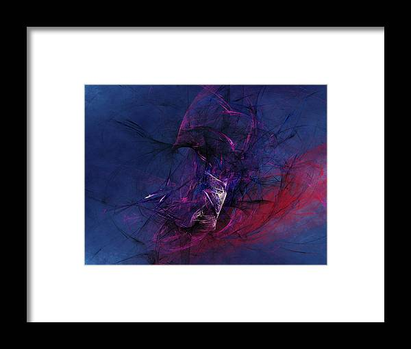 Abstract Framed Print featuring the digital art Knowledgeable Ignorance by Jeff Iverson