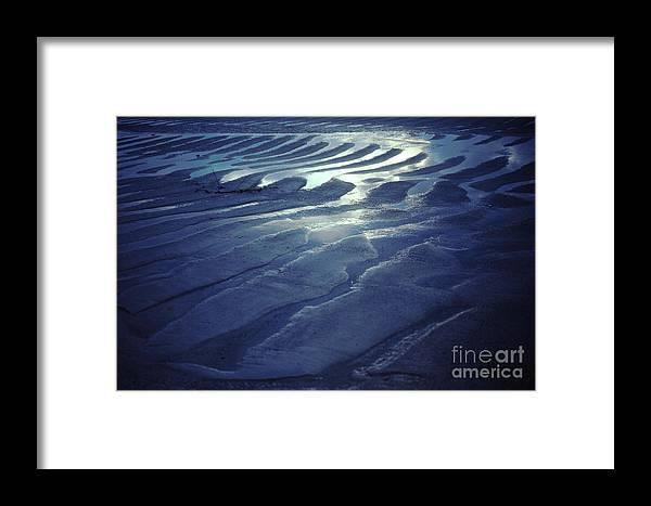 Koh Phangan Framed Print featuring the photograph Koh Phang-an Sand And Sea Serenity - Thailand by Anna Lisa Yoder