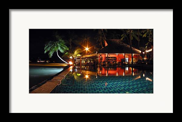 3scape Photos Framed Print featuring the photograph Koh Samui Beach Resort by Adam Romanowicz