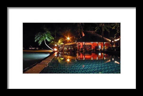 3scape Framed Print featuring the photograph Koh Samui Beach Resort by Adam Romanowicz