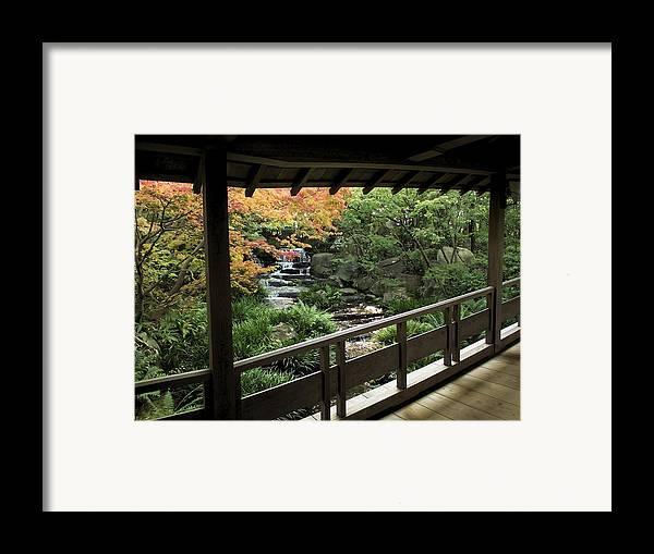 Japan Framed Print featuring the photograph Kokoen Garden - Himeji City Japan by Daniel Hagerman