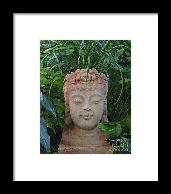 Kwan Yin Framed Print featuring the photograph Kwan Yin Goddess Of Mercy by Dodie Ulery