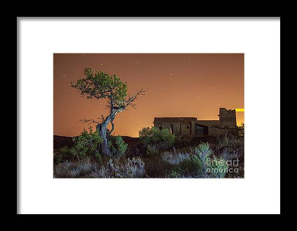 Night Framed Print featuring the photograph The Witch by Eugenio Moya
