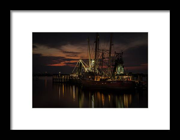 Framed Print featuring the photograph Lady Jo Ann by Ron Maxie