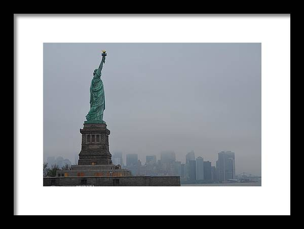 Lady Liberty Framed Print featuring the photograph Lady Liberty by Turtleberry Press Photography