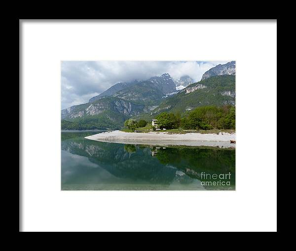 Brenta Framed Print featuring the photograph Lago Di Molveno - Reflections by Phil Banks