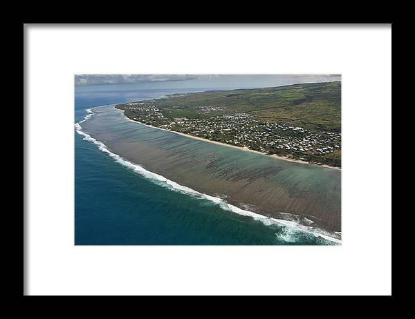 Reunion Island Framed Print featuring the photograph Lagoon - St Paul - Reunion Island by Travel Photographer Specialized In Asia * Sylvain Brajeul