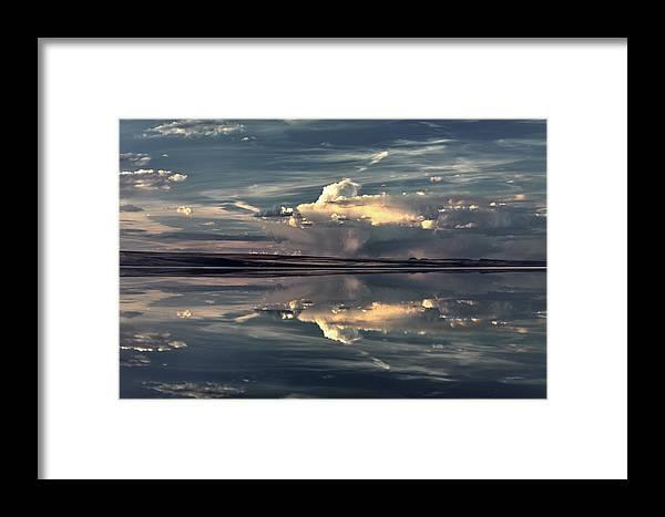 Alkali Lake Framed Print featuring the photograph Lake Abert 12 by Leland D Howard