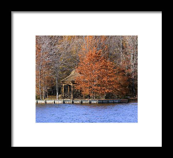 Landscape Photography Framed Print featuring the photograph Lake Anna 5 by David Lester