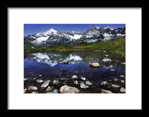 Lake Framed Print featuring the photograph Lake by Annie Snel