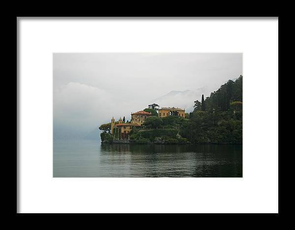 Italy Framed Print featuring the photograph Lake Como No. 1 by Belinda Greb
