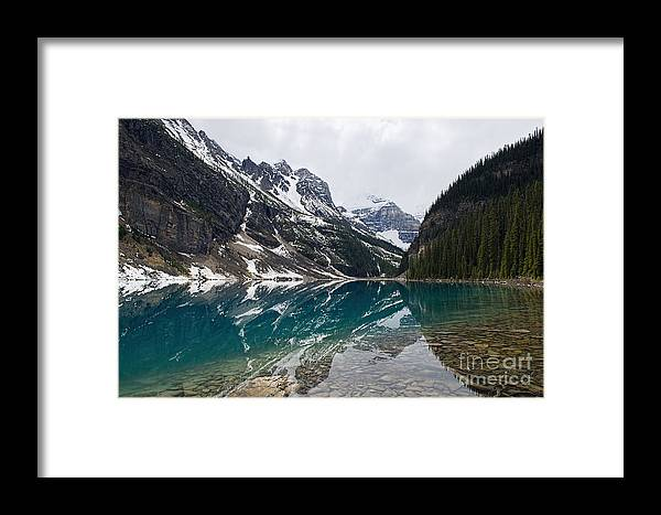 Lake Louise Framed Print featuring the photograph Lake Louise by David Arment