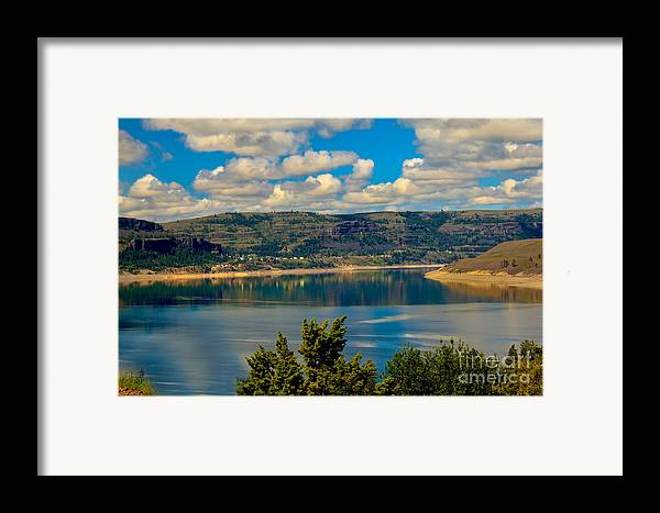 Lake Framed Print featuring the photograph Lake Roosevelt by Robert Bales