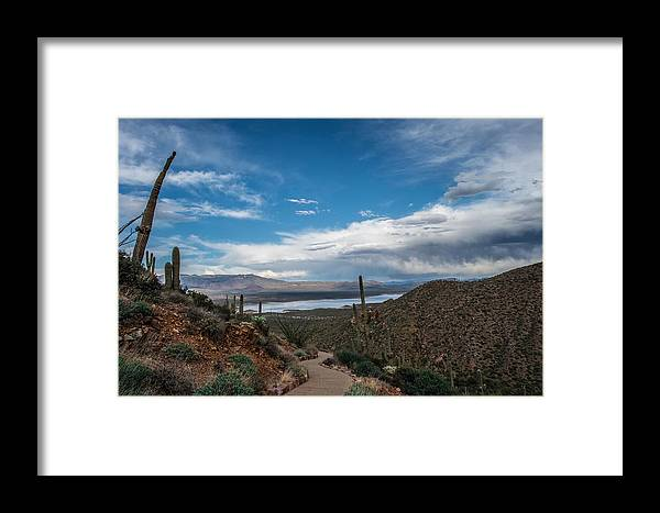 Landscapes Framed Print featuring the photograph Lake Roosevelt by Scott Wickward