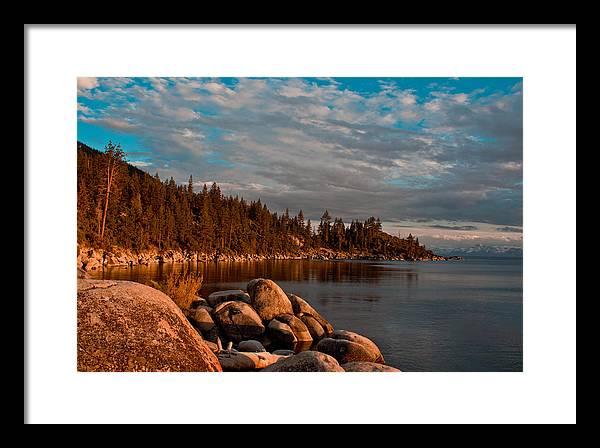 Lake Tahoe Sunet by John McGraw